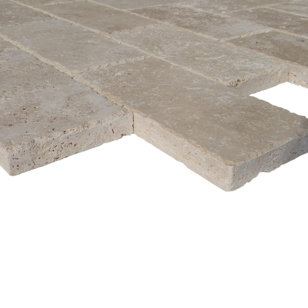 20020078-classic-light-travertine-pavers-6x12-profile-view-www.mayausatile