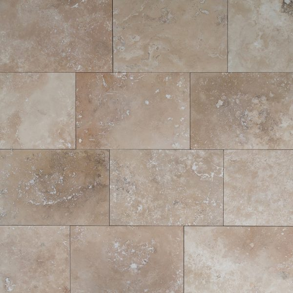classic rustic beige travertine