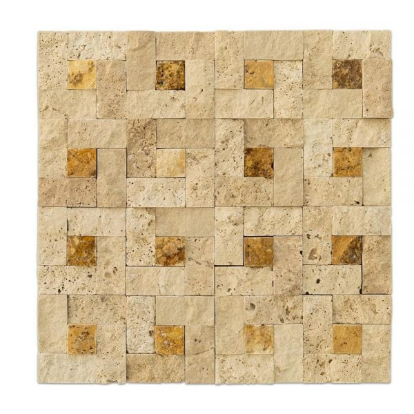1_Beige Splitface Travertine Mosaics-natural_stone_1x2_split_face_mosaic_classic_mix_basket_travertine-20012409